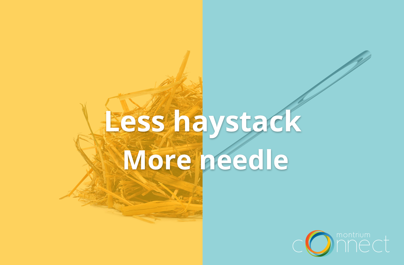 Less Haystack More Needle