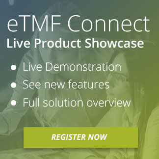 eTMF Connect Live Product Showcase