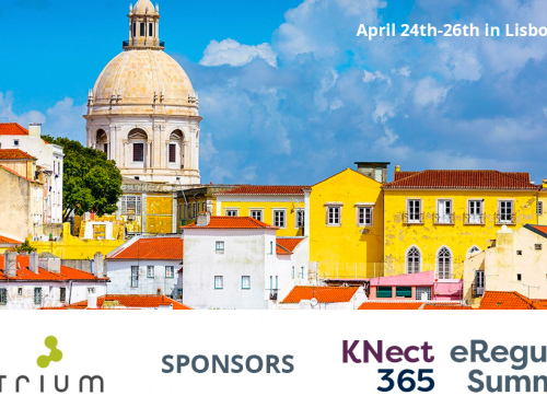 Montrium Sponsors of Industry Leading eRegulatory Summit 2018 in Lisbon