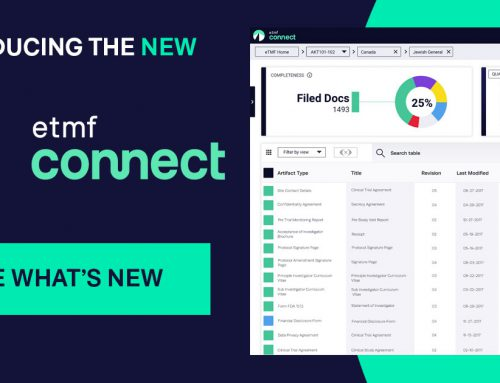 Montrium Announces Re-Engineered eTMF Connect with Focus on User Experience