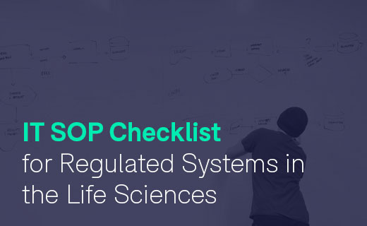 IT SOP Checklist for Regulated Systems