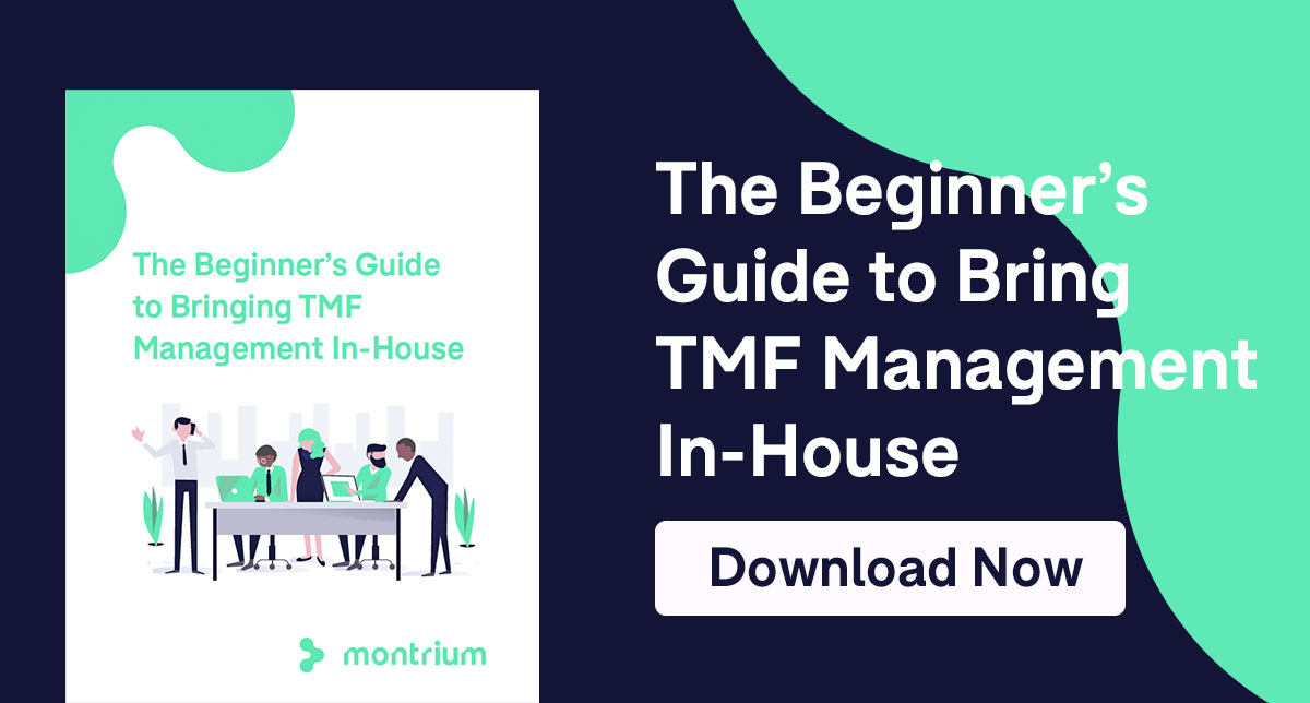 Beginners guide to bringing TMF Management in house