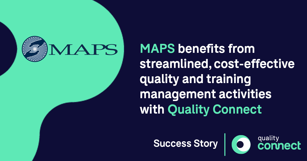 MAPS Case Study Montrium Quality Connect