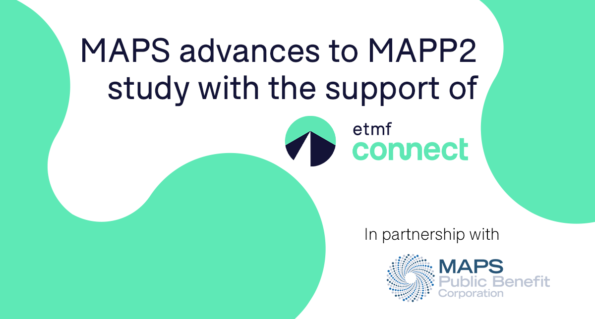 MAPS MAPP2 Study Supported By eTMF Connect by Montrium