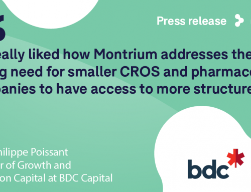 Montrium Secures $2M Funding from BDC Capital Growth and Transition Capital Division